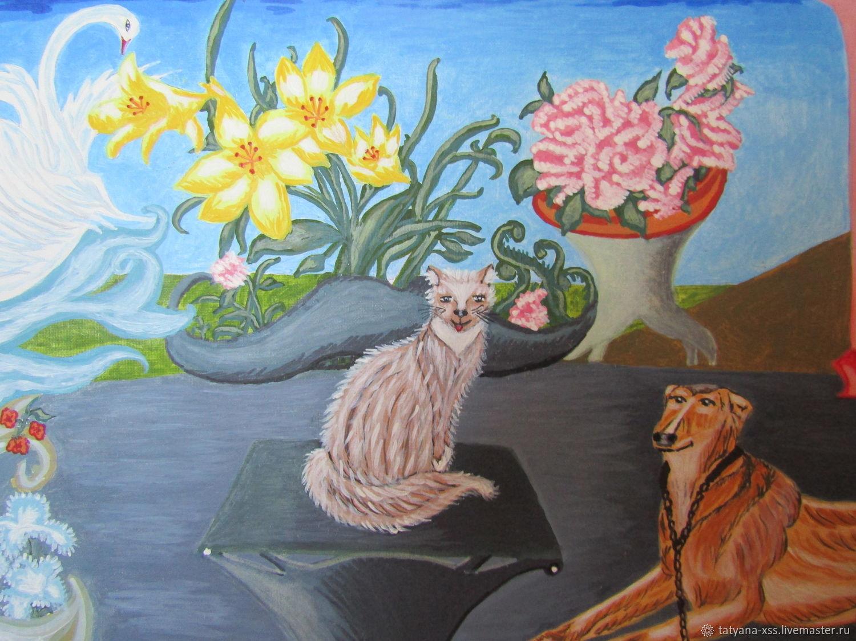 Мой дворик, Картины, Рославль, Фото №1