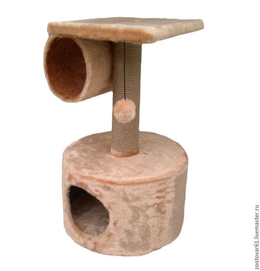 Аксессуары для собак, ручной работы. Ярмарка Мастеров - ручная работа. Купить Когтеточка с домиком и туннелем. Handmade. Лежанка для собаки