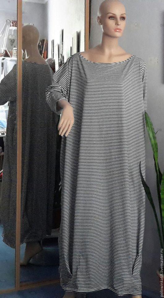 Большие размеры ручной работы. Ярмарка Мастеров - ручная работа. Купить Платье в пол бохо стиль. Handmade. Белый, бохо