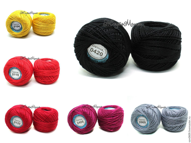 Ирис гамма для вязания