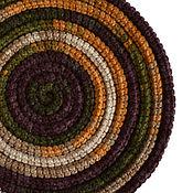 Аксессуары ручной работы. Ярмарка Мастеров - ручная работа Украшение на шею Lasso Autumn вязаное колье шарф бусы. Handmade.