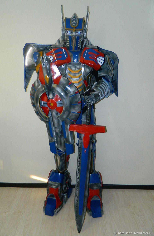 Сделать костюм трансформера оптимус своими руками фото 874