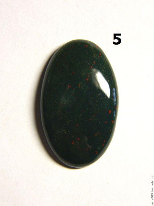 Для украшений ручной работы. Гелиотроп кабошон гелиотроп камень зеленый камень для украшений. Кабошон со всех сторон. Ярмарка Мастеров.