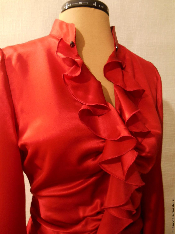 Купить Блузки Шелк