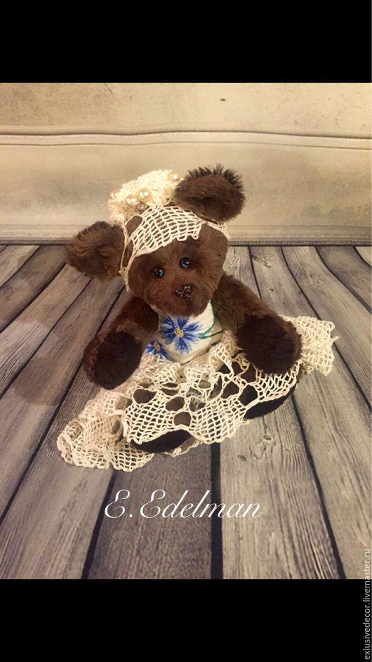 Мишки Тедди ручной работы. Ярмарка Мастеров - ручная работа. Купить Мишка Тедди Клотильда. Handmade. Коричневый, мишка в подарок