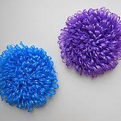 Мочалки ручной работы. Ярмарка Мастеров - ручная работа Вязаные круглые мочалки. Handmade.