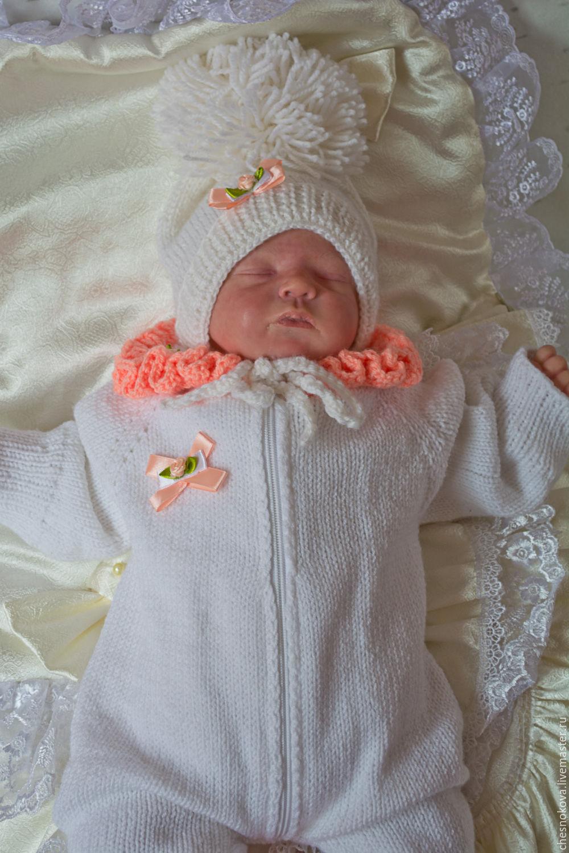 Как вязать своими руками одеяло для новорожденных 48