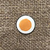 Материалы для творчества handmade. Livemaster - original item Overglaze paint Dulevo No. №5224 pale yellow. Handmade.