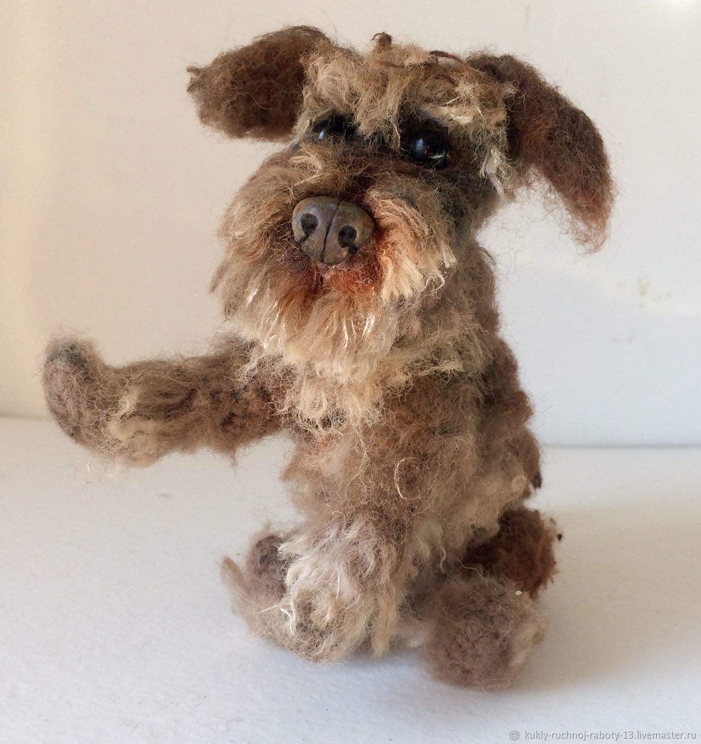 interior doll: The dog of unknown breed, Interior doll, Ulan-Ude,  Фото №1