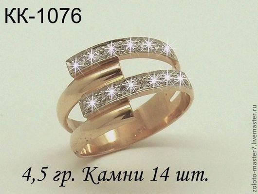 На фото представлена модель в золоте. Стоимость кольца в серебре 1500 руб.