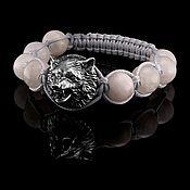 Украшения handmade. Livemaster - original item Wolf moonstone bracelet. Handmade.