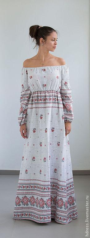 Купить платье вышиванку в интернете