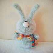 Куклы и игрушки ручной работы. Ярмарка Мастеров - ручная работа Вязаный зайка:). Handmade.