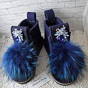 Обувь ручной работы. Ярмарка Мастеров - ручная работа Валенки №1 в наличии. Handmade.