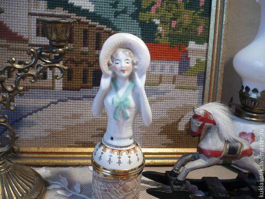 Винтажные куклы и игрушки. Ярмарка Мастеров - ручная работа. Купить Кукла половинка /half-doll/, Антикварная, фарфор, Германия. Handmade.