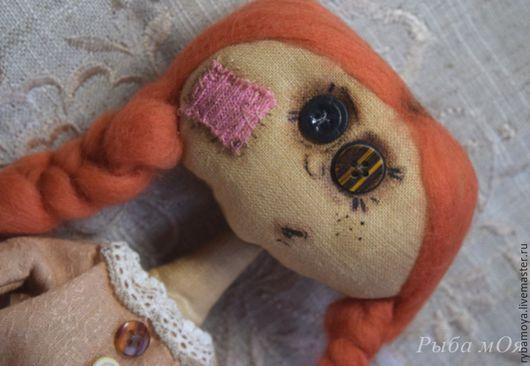 Авторская чердачная кукла Страшилка. Ярмарка мастеров- ручная работа. Handmade. Купить autor attic doll Strashilka. Мастер Яга.