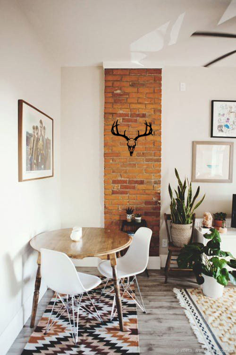 Online Shopping On My Interior Design Handmade. Order The Deer SKULL Metal  Decorative. Metallwall. Livemaster.