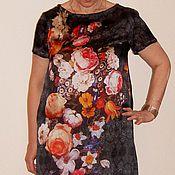 Одежда ручной работы. Ярмарка Мастеров - ручная работа Платье летнее шелковое натуральный шелк. Handmade.