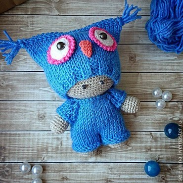 Куклы и игрушки ручной работы. Ярмарка Мастеров - ручная работа пупс вязаный. Handmade.