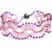 Украшения handmade. Livemaster - original item Beaded Bracelet BGB1460171. Handmade.
