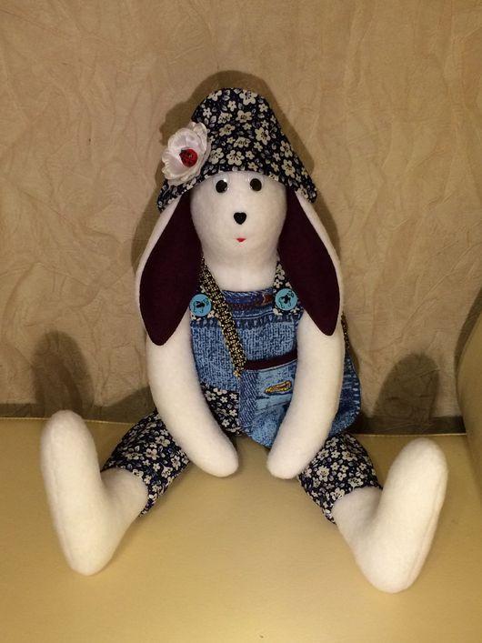 Куклы Тильды ручной работы. Ярмарка Мастеров - ручная работа. Купить ЗАЙКА В СТИЛЕ ТИЛЬДА. Handmade. Тильда, игрушка