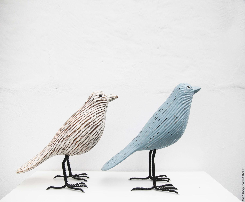 """Статуэтки ручной работы. Ярмарка Мастеров - ручная работа. Купить Птичка """"Burung-Burung"""". Handmade. Птицы, птица, декоративная птичка"""