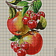 Kit embroidery with beads 'BERRIES AND FRUITS', Embroidery kits, Ufa,  Фото №1