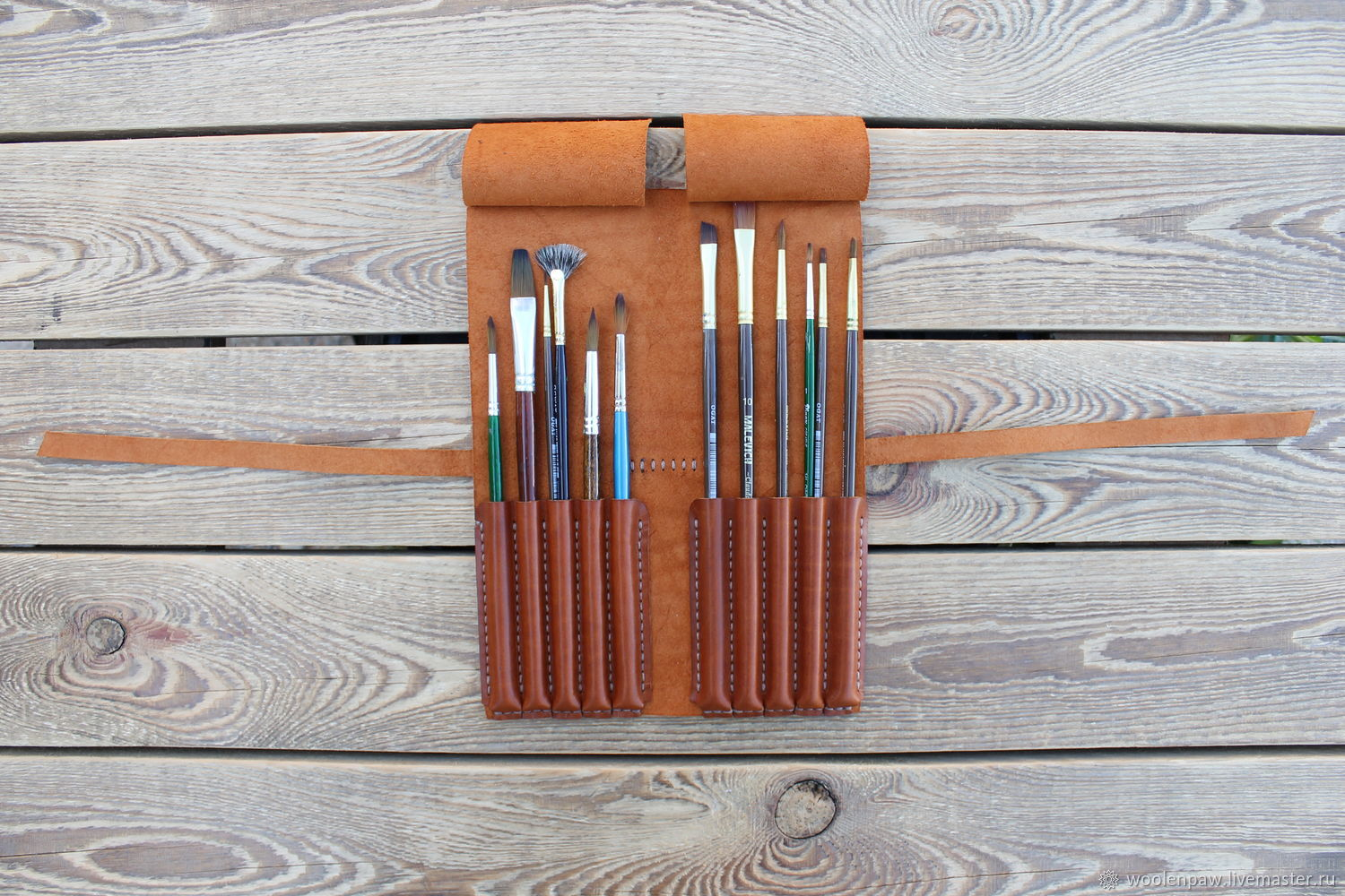 Pencil box for art brushes, Canisters, Voskresensk,  Фото №1