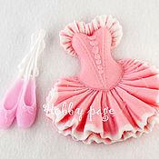 Материалы для творчества handmade. Livemaster - original item Silicone molds for soap Ballet tutu. Handmade.