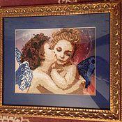 Картины и панно ручной работы. Ярмарка Мастеров - ручная работа Поцелуй ангелов. Handmade.