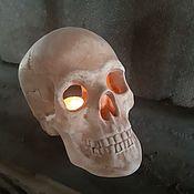 handmade. Livemaster - original item candle holder skull. Handmade.