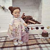 Мягкие игрушки ручной работы. Ярмарка Мастеров - ручная работа Анечка. Текстильная кукла. Handmade.