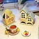 Кухня ручной работы. Заказать Набор двойной чайный домик и салфетница Совушкин дом. MarmelaDecor. Ярмарка Мастеров. Чайная шкатулка