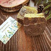 """Косметика ручной работы. Ярмарка Мастеров - ручная работа Мыло-скраб """"Хвойный лес"""". Handmade."""