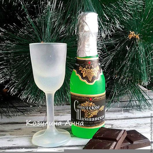 мыло шампанское,мыло бокал,мыло фужер,бутылка шампанского
