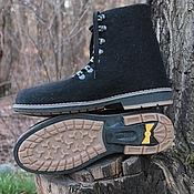 """Обувь ручной работы. Ярмарка Мастеров - ручная работа Валяные ботинки """"Freedom"""". Handmade."""