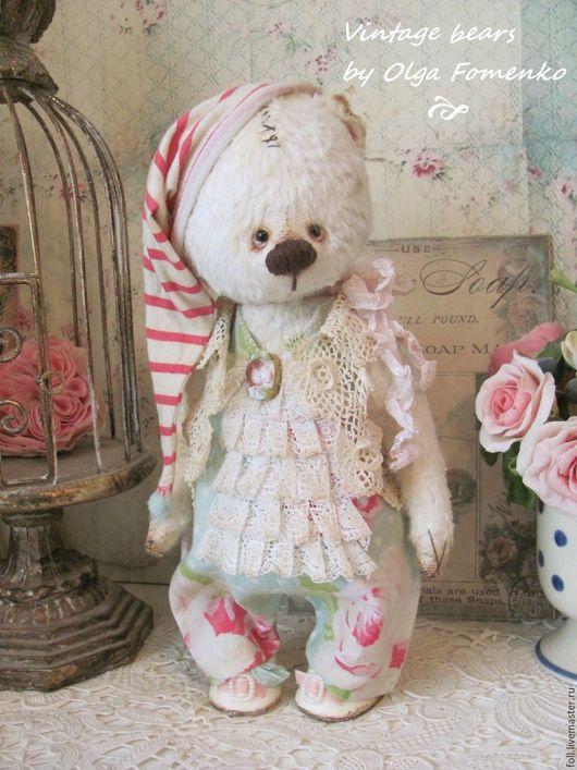 Мишки Тедди ручной работы. Ярмарка Мастеров - ручная работа. Купить Мишка Дарси. Handmade. Мишка, подарок, опилки