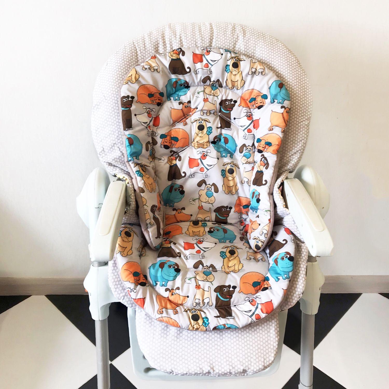 Вкладыш на стульчики для кормления Chicco Polly, Стулья, Калининград,  Фото №1