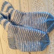 Носки ручной работы. Ярмарка Мастеров - ручная работа Носки детские, теплые. Handmade.