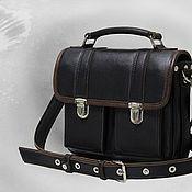 Сумки и аксессуары handmade. Livemaster - original item men`s leather bag. Handmade.