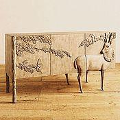 Для дома и интерьера ручной работы. Ярмарка Мастеров - ручная работа Резной комод. Handmade.