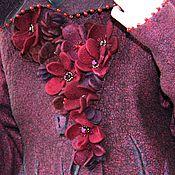 Одежда ручной работы. Ярмарка Мастеров - ручная работа Пальто валяное Тамара. Handmade.