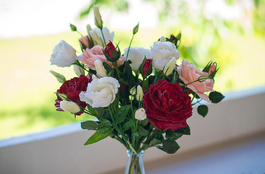 Цветы из холодного фарфора купить в интернет магазине домашние цветы столетник купить