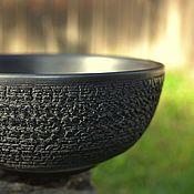 Посуда ручной работы. Ярмарка Мастеров - ручная работа Керамическая чаша. Handmade.
