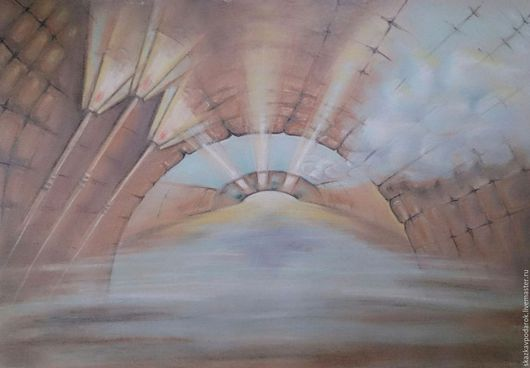 """Город ручной работы. Ярмарка Мастеров - ручная работа. Купить картина """"Питерские мосты"""". Handmade. Картина, Питер, купить картину"""