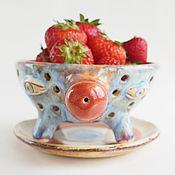 Посуда ручной работы. Ярмарка Мастеров - ручная работа Berry Bowl «Ягодка моя». Handmade.