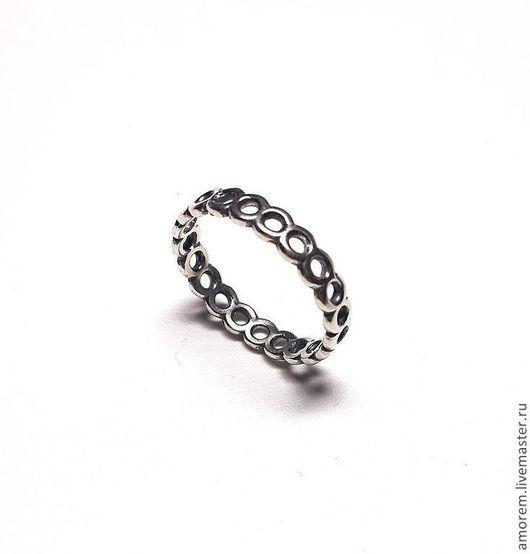 Кольца ручной работы. Ярмарка Мастеров - ручная работа. Купить Модульное кольцо. Handmade. Серебряный, серебро 925 пробы
