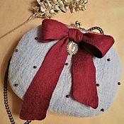 Сумки и аксессуары handmade. Livemaster - original item Felted handbag. Handmade.