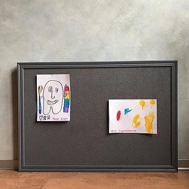 Для дома и интерьера ручной работы. Ярмарка Мастеров - ручная работа Пробковая доска. Handmade.