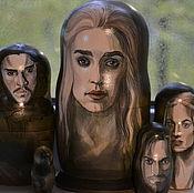 Русский стиль handmade. Livemaster - original item Game of thrones. Handmade.